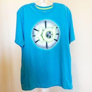 Nike KD Dri-Fit Blue Tee Shirt   006